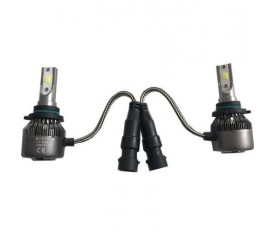 AMPUL H10 LED XENON SET 6500K 12V
